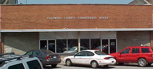 Caldwell County Courthouose Annex